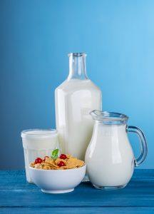 le lait riche en calcium bon pour la santé